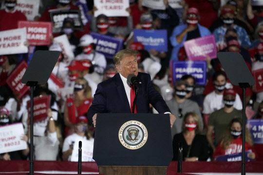 """트럼프 """"재선 실패하면 미국 떠나야할지 모른다"""""""